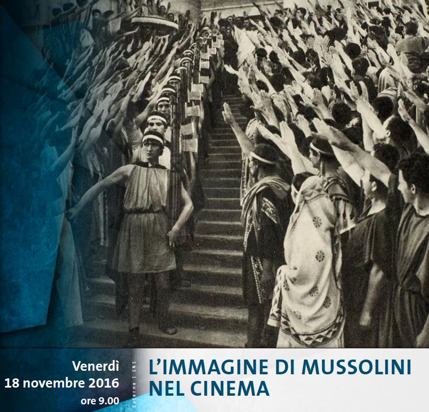 18 novembre 2016 – L'immagine di Mussolini nel cinema ...